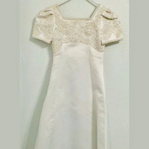 Alfred Angelo White Junior Bridesmaid dress sz. 12